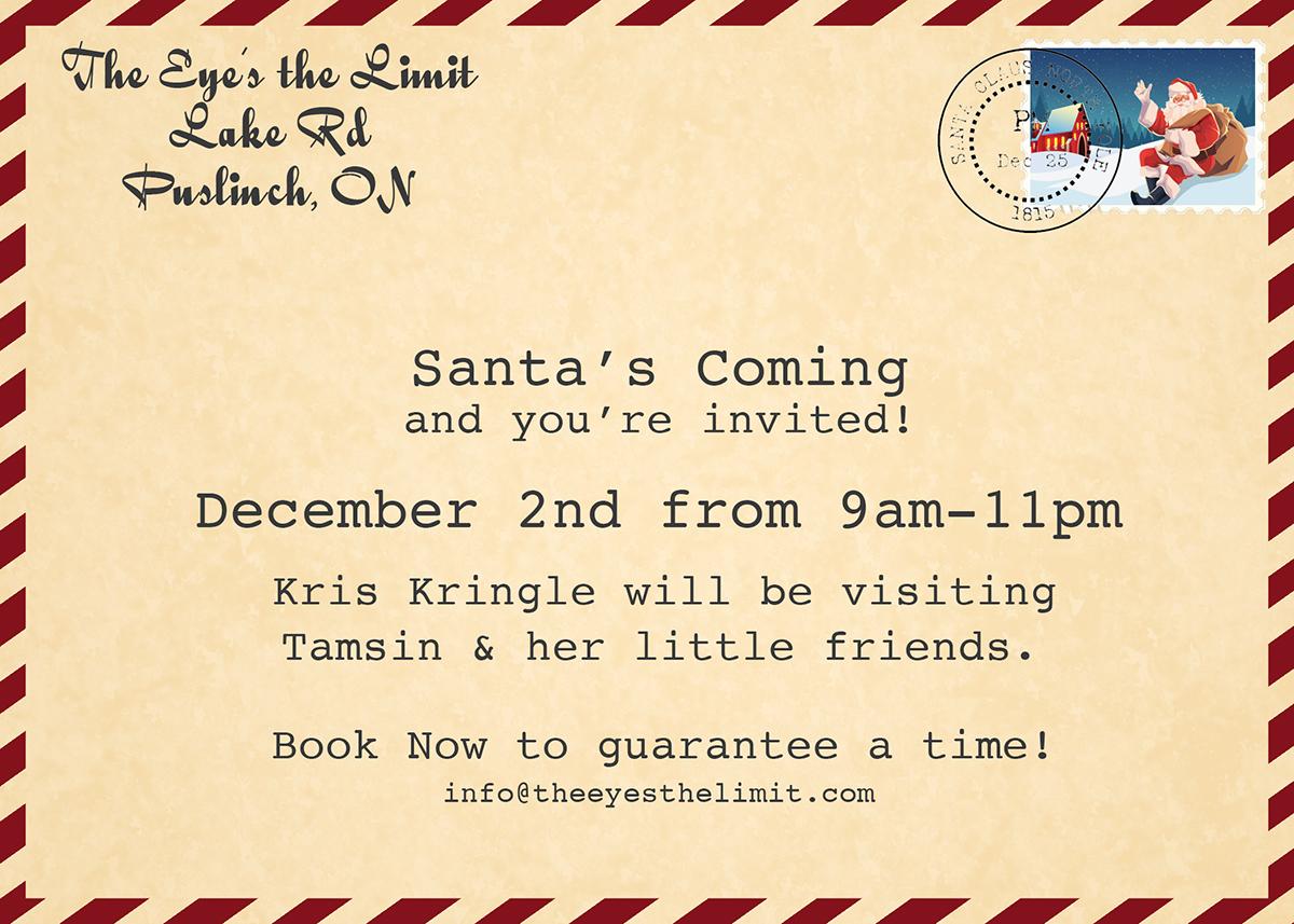 Santa Photography Sessions