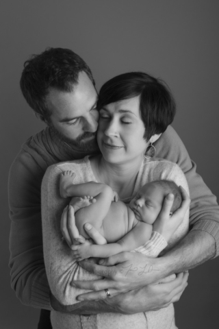 In home newborn photographer