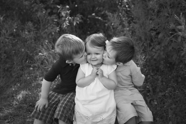 Sibling child portraits
