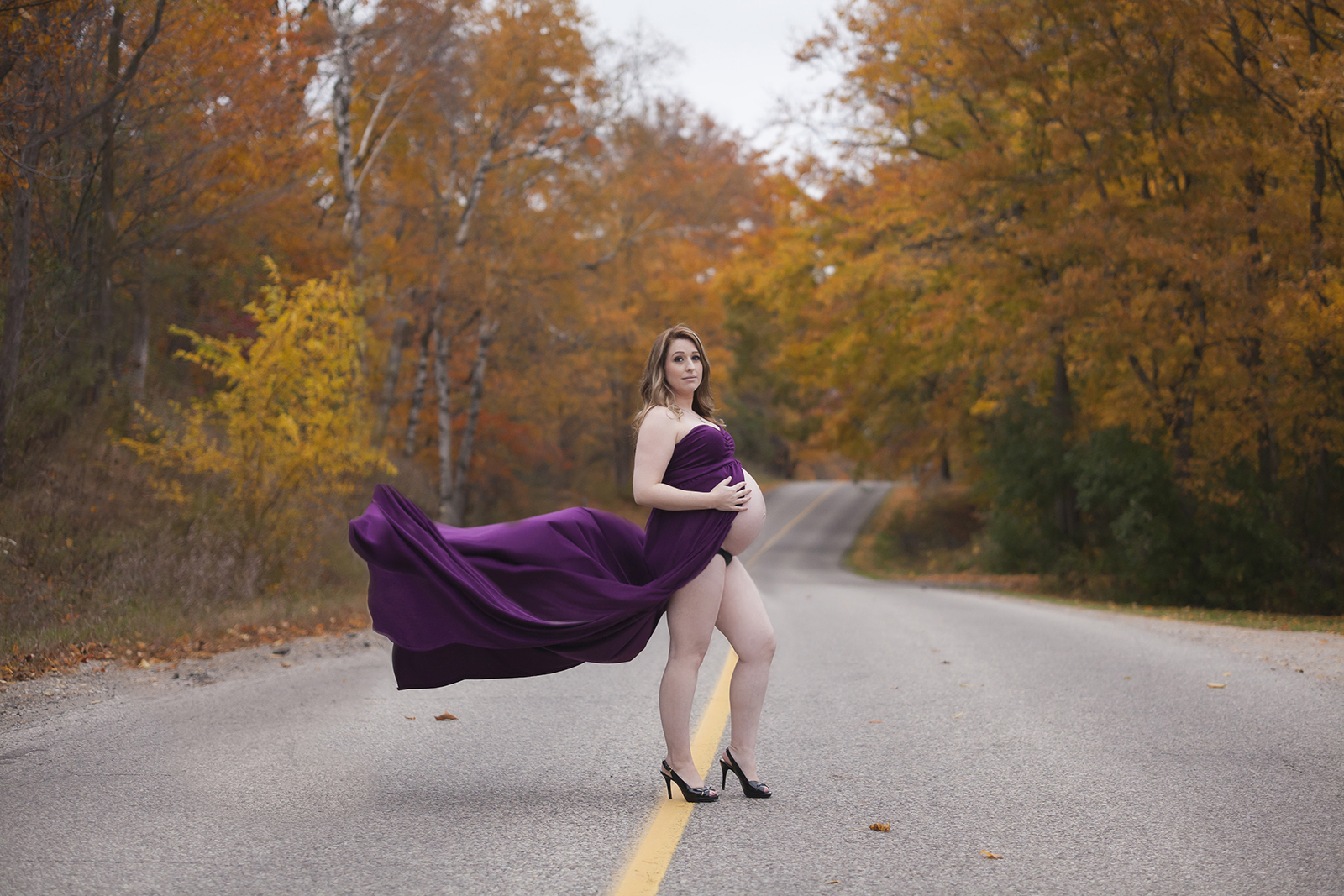 Maternity Gown Outdoor photography