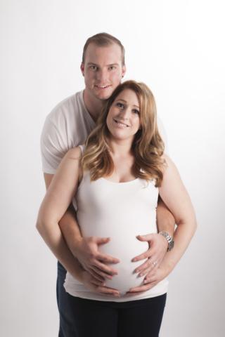 Couple Maternity Session Photographer