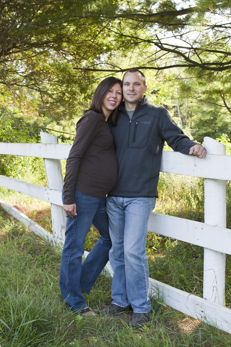 Maternity Session at a Farm