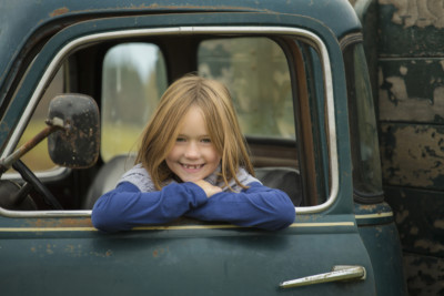 Vintage Truck Child Photography