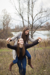 Teen Sister fun photography