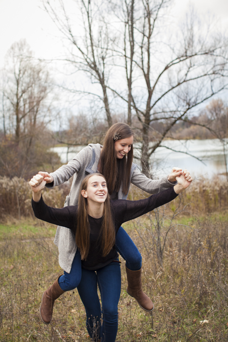 Teen Sister fun photography