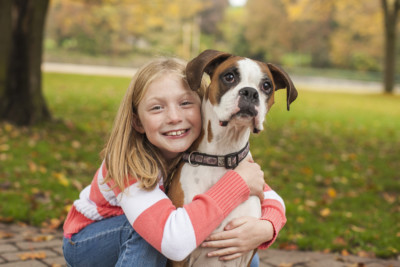 Girl and her Dog-Man Bests Friend Photographer