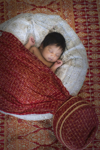 South Asian Newborn baby ethnic baby photo