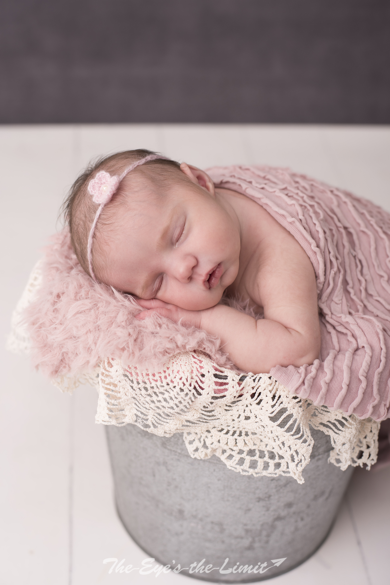 Newborn Photographer in Cambridge baby girl